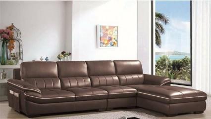 Sofa cao cấp màu nâu thời thượng
