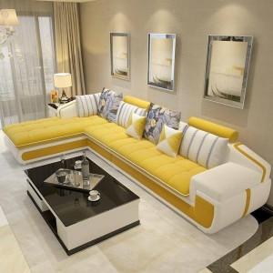 Sofa cao cấp phối màu tươi xinh