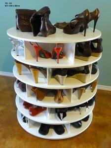Tủ giày tròn