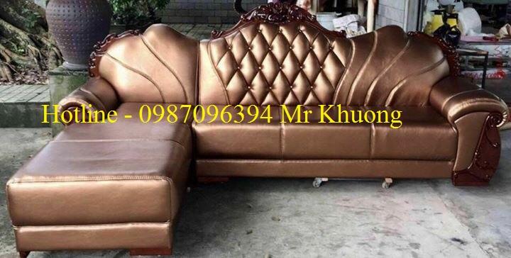 sofa tân cổ điển mẫu 23