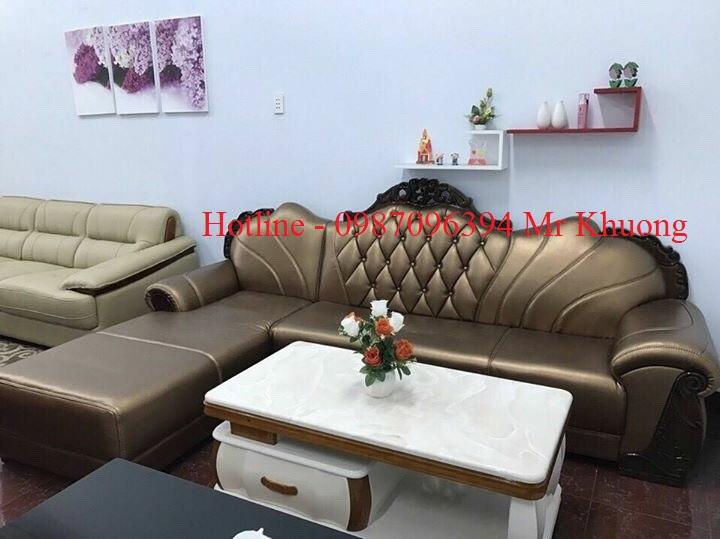 sofa tân cổ điển mẫu 24