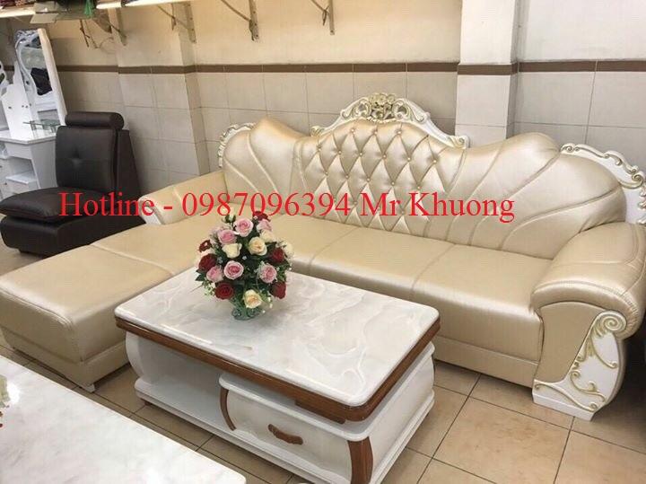 sofa tân cổ điển mẫu 26