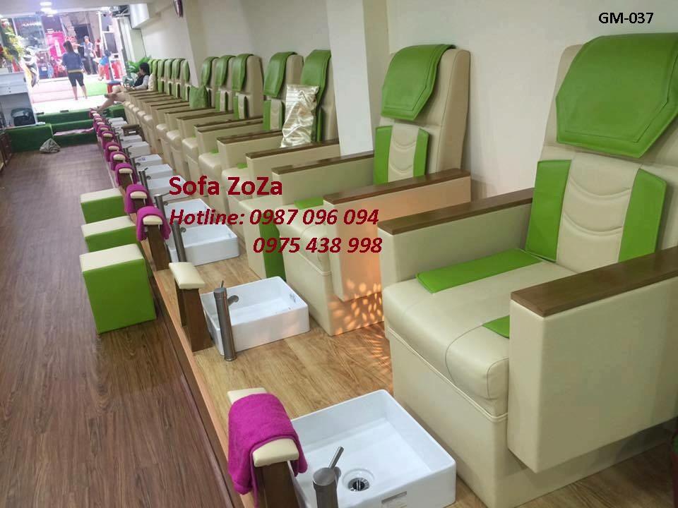 ghế nail cao cấp 037
