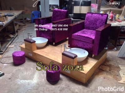 ghế nail mẫu mới 042